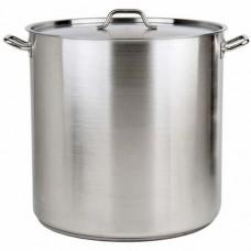 Oala inox 100 litri cu capac