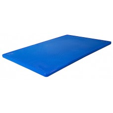 Blat/Tocator polietilena HACCP - 53x32.5x2 cm - Albastru