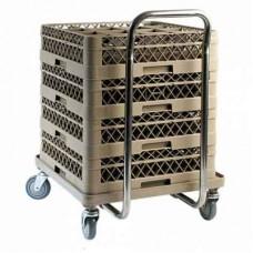 Carucior inox transport cosuri masini spalat vase