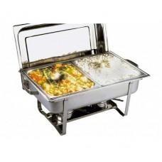 Chafing dish inox 2 x 3.5 litri