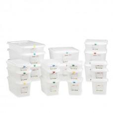 Container cu capac depozitare ingrediente GN 1/1