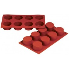 Forma silicon cilindrica Ramekin 6 x 3 cm