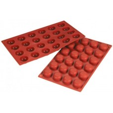 Forma silicon pentru copt semirotunda/semisfere Amarettini