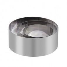 Inel / Forma rotunda tort din inox 12 x H6 cm