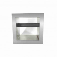 Knock Box inox rest cafea incorporat blat bar 15x15 cm