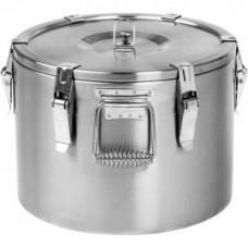 Marmita / Recipient termorezistent transport hrana inox 10 litri