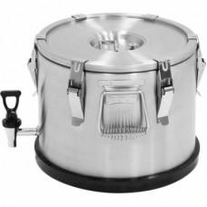 Marmita inox termica cu robinet 15 litri