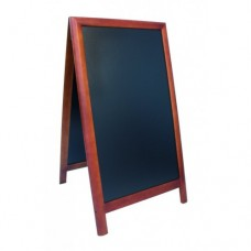 Panou stradal lemn Maro inchis 125x70,5x57 cm