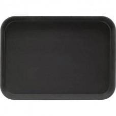 Tava neagra dreptunghiulara pentru servire 46x36 cm