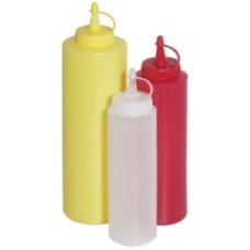 Flacon, dispenser sos 350 ml PE - Galben