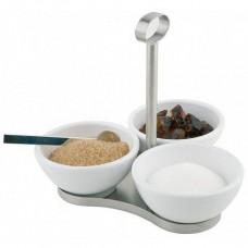 Set 3 recipiente servire ingrediente, sosuri